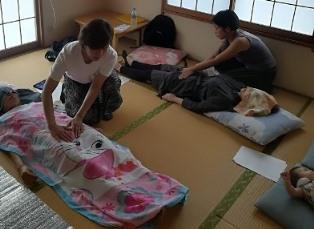 お手当サークル母子庵8月開催しました