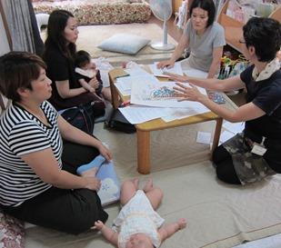 母乳育児講座開催しました