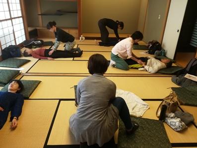 千葉市男女共同参画センターまつり 簡単手当で骨盤調整講座!開催しました