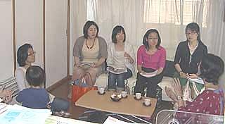 千葉大学看護学部の学生さんが見学に来ました
