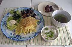 若草ご飯の会4月「豆腐餃子」