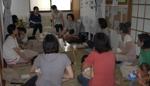 お母さん達によるお産・母乳のクラス