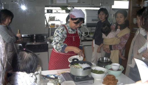 若草ご飯の会12月「車麩のすき焼き風煮」