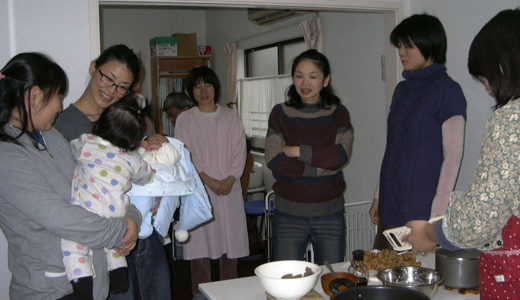 若草ご飯の会1月「れんこんつみれの雪鍋」