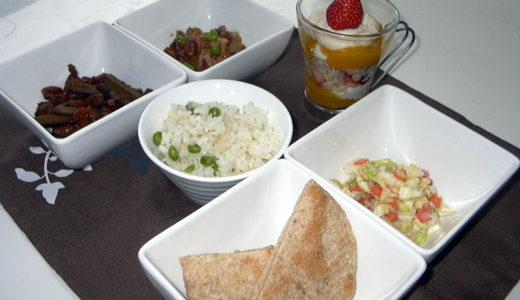 若草ご飯の会3月「根菜のチリコンカン」
